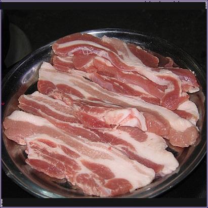 Sliced Pork Belly Sliced Pork Belly is One